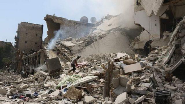 Los combates entre el ejército sirio y los rebeldes por el control de Alepo oriental se intensificaron en las últimas semanas