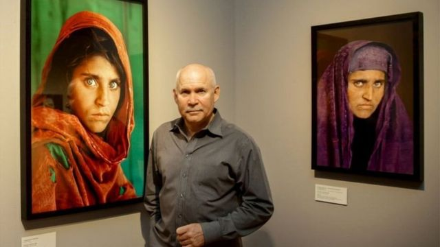 हरी आंखों वाली अफ़गानी शरबत गुला