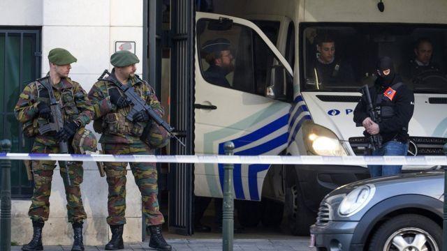 Polícia da Bélgica