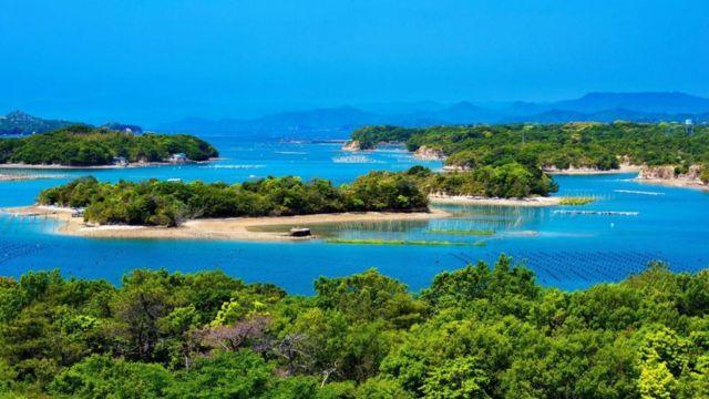 Vista escénica de la Bahía de Ago