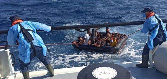 گارد ساحلی ترکیه میگوید در ۲۷ ژوئیه بیش از ۳۹۰ پناهجو را از آب گرفته است