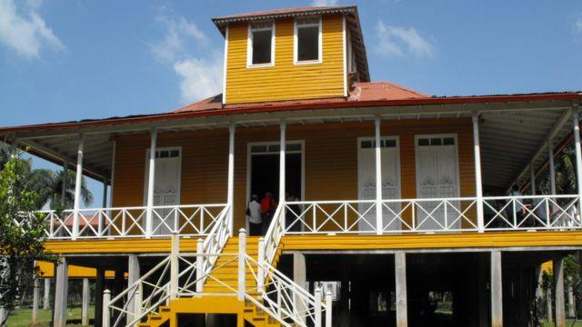 Casa de Fidel Castro en Birán