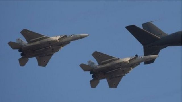طائرات تابعة للقوات الجوية الاسرائيلية