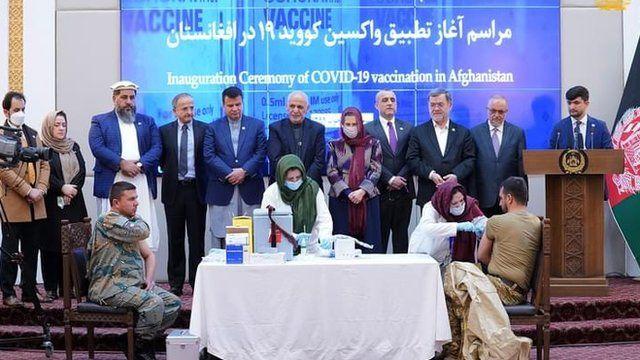 وزارت صحت/بهداشت افغانستان اعلام کرده که برنامه واکسیناسیون شصت درصد جمعیت این کشور را روی دست دارد