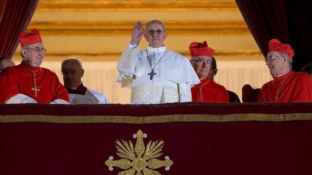 Elección de Bergoglio