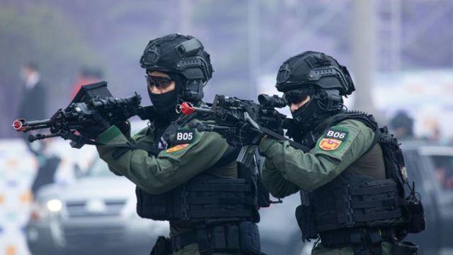 台湾军队演习