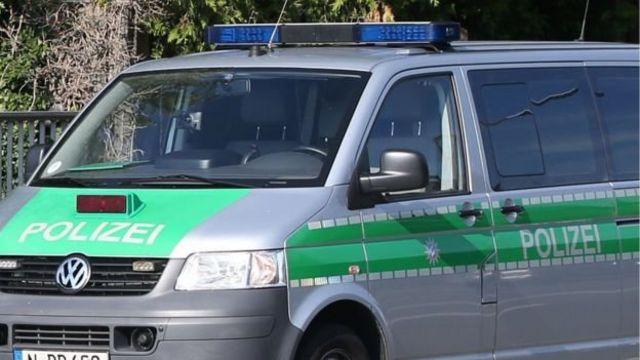 Un vehículo de la policía