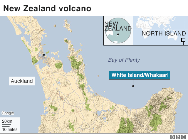 Map of White Island