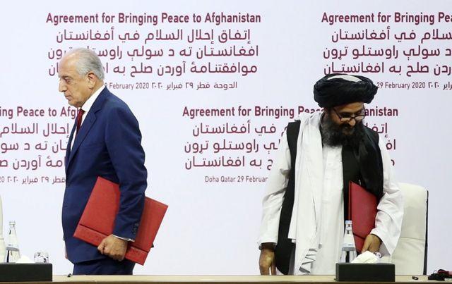 Соглашение с талибами