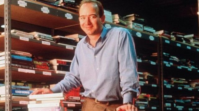 جيف بيزوس عام 1997