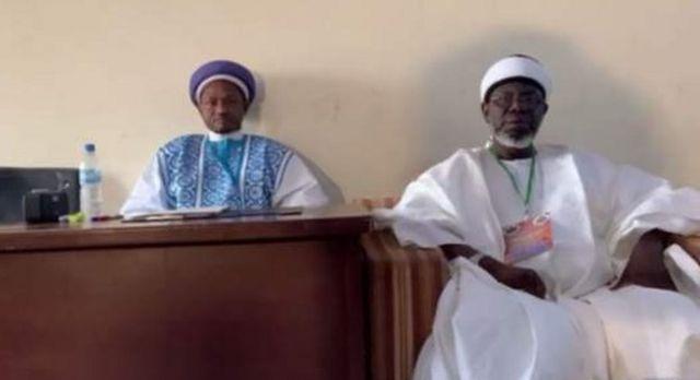 Sheikh Abduljabbar Nasiru Kabara da Farfesa Salisu Shehu