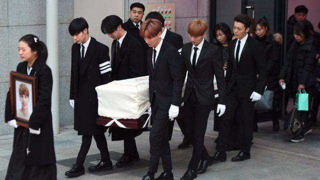 Pemakaman Jonghyun