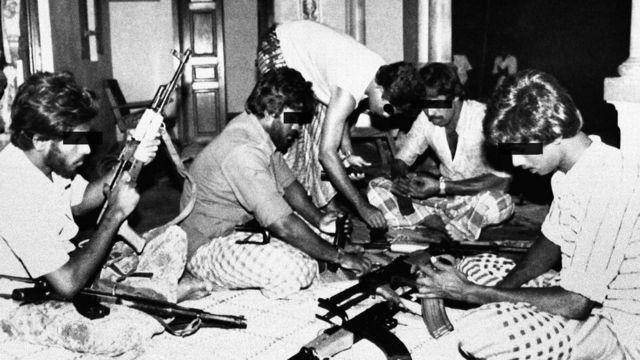 Tamil Tigers in Sri Lanka in 1986