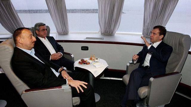 Алиев, Саргсян и Медведев