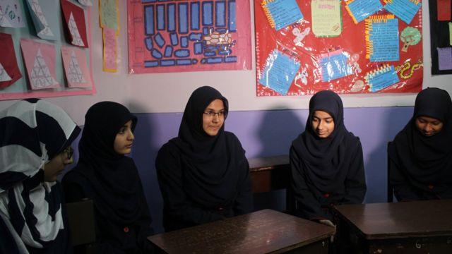 ইসলামিক ইন্টারন্যাশানাল স্কুলের শিক্ষার্থীরা