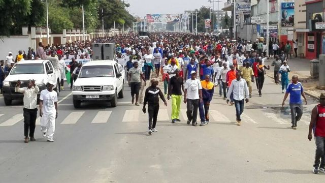 Ababa mu gisagara ca Bujumbura biyamiriza icegeranyo ca Onu ku munsi wa gatandatu itariki 10 Ukwezi kwa kabiri 2018