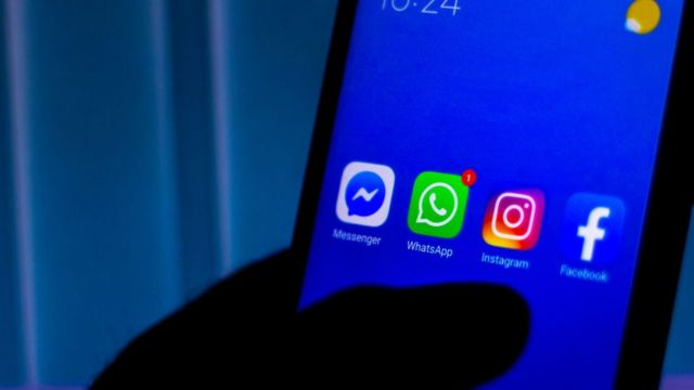 WhatsApp, Facebook, Instagram ve Messenger ikonları