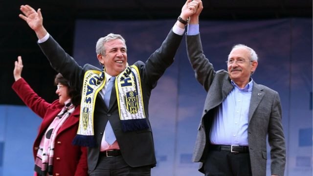 Genel Başkan Kemal Kılıçdaroğlu ve Mansur Yavaş