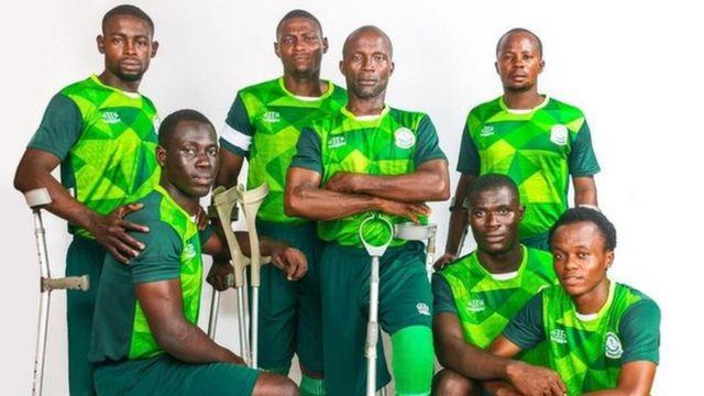 Nigeria amputee football team