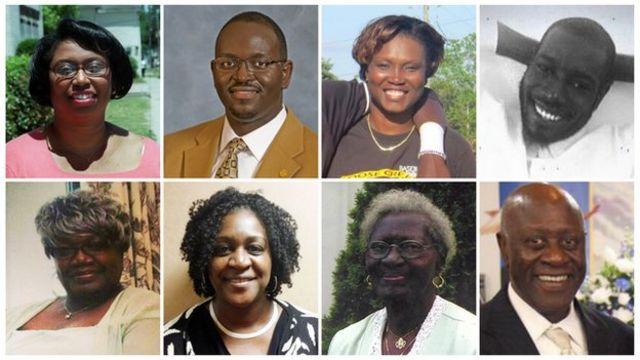 Charleston Church Shooting Victims Remembered Bbc News