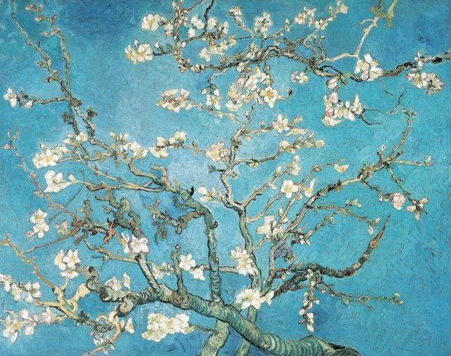 The Almond Blossom by Vincent van Gogh