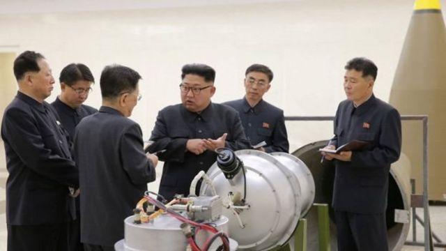 کره شمالی در اوایل ماه سپتامبر اعلام کرد که یک بمب هیدروژنی قابل نصب در کلاهک موشک آماده کرده است