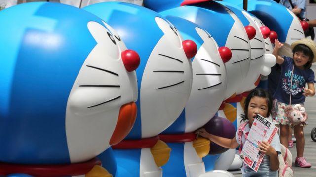 ドラえもんは日本で最も有名なキャラクターのひとつ