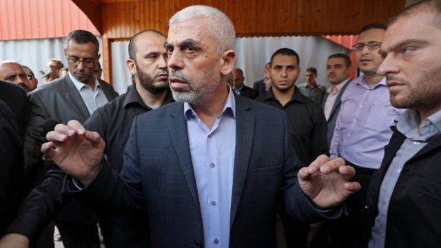 Hamas lideri Yahya Sinvar