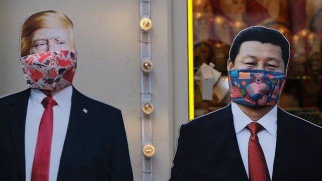 Prezident Tramp va Prezident Szi Zinpin