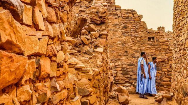 """Les Touaregs sont considérés comme les """"hommes bleus du Sahara"""""""