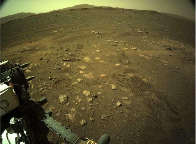 محل فرود مریخ نورد
