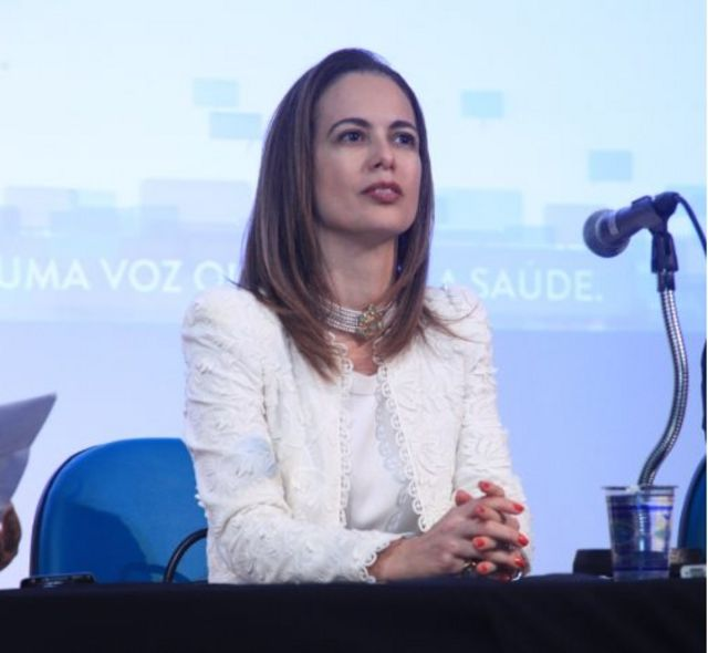 Renata Pietro, presidente do Coren-SP