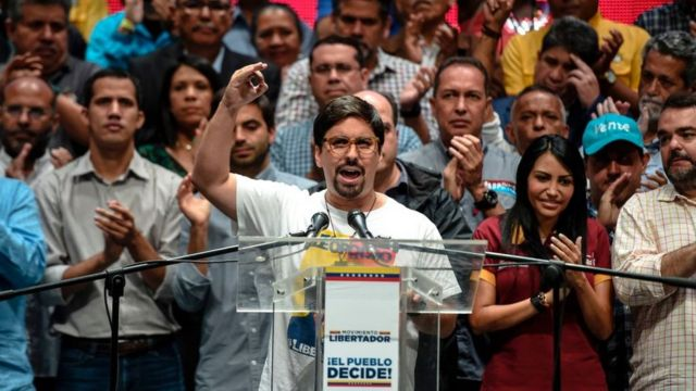 """Freddy Guevara anunció el inicio de la """"hora cero"""""""