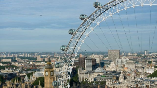 Vista del London Eye