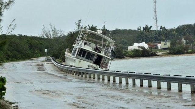 हेती के एक्जूमा द्वीप में तूफ़ान 'मैथ्यू' का असर