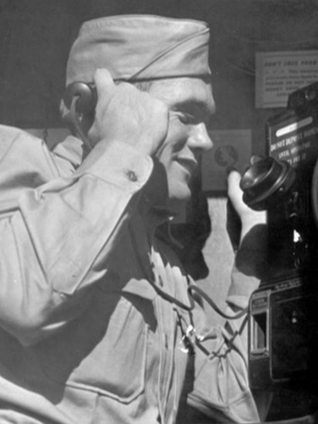 Foto antiga do soldado Hayman Shulman