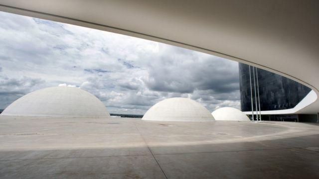vista da sede do TSE em Brasília