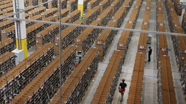 Amazon en Alemania.