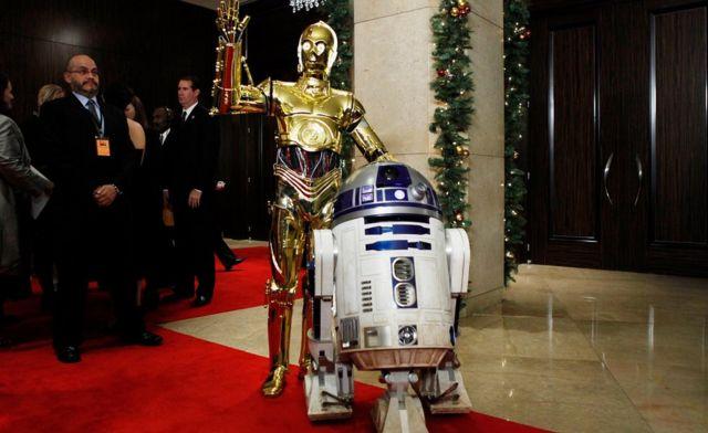 R2-D2 con C-3PO