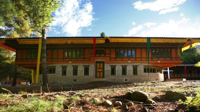 Центр счастья в Бутане