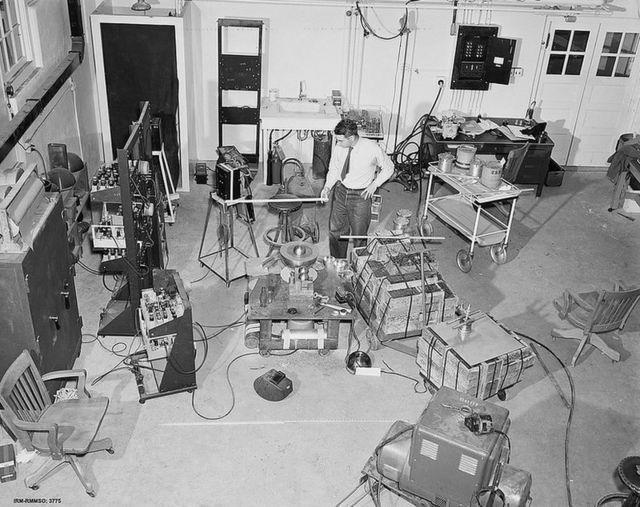 Reprodução da sala na qual Stolin realizou seu experimento