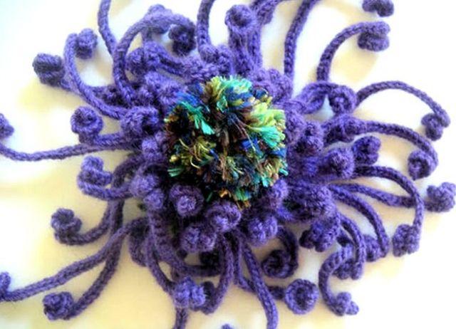 Coral de crochet