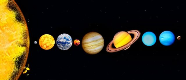 Solar System with Pluto