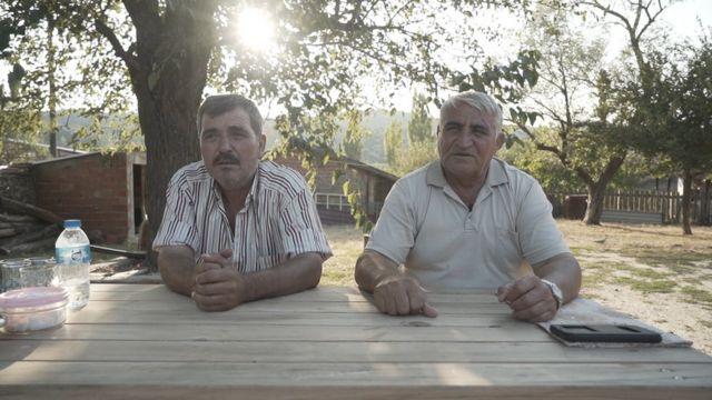 Cazgırlar Köyü Muhtarı Ali Alaca