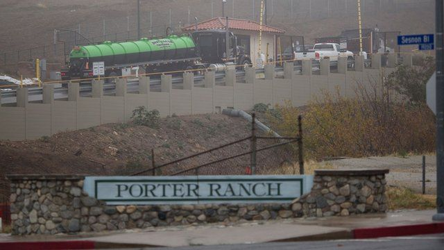"Sign that reads ""Porter Ranch"""