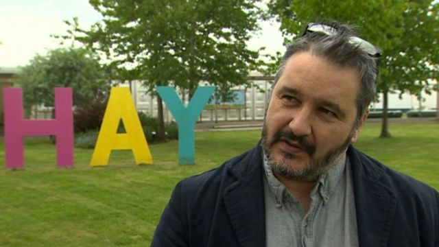 Hay Festival director, Peter Florence