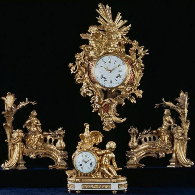 Relojes franceses del siglo XVIII