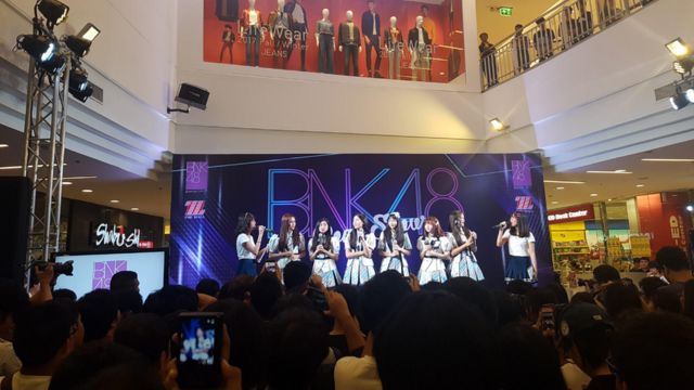 File photo of a BNK48 performance in 2017