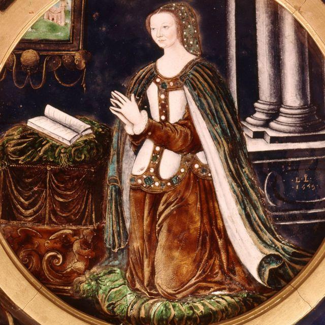 Catherine praying