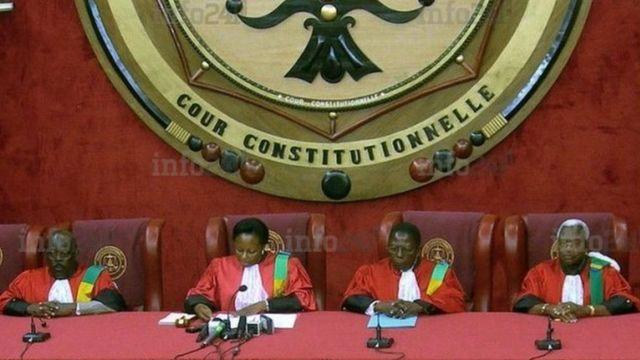 La Cour Constitutionnelle évoque des difficultés financières et reporte les législatives
